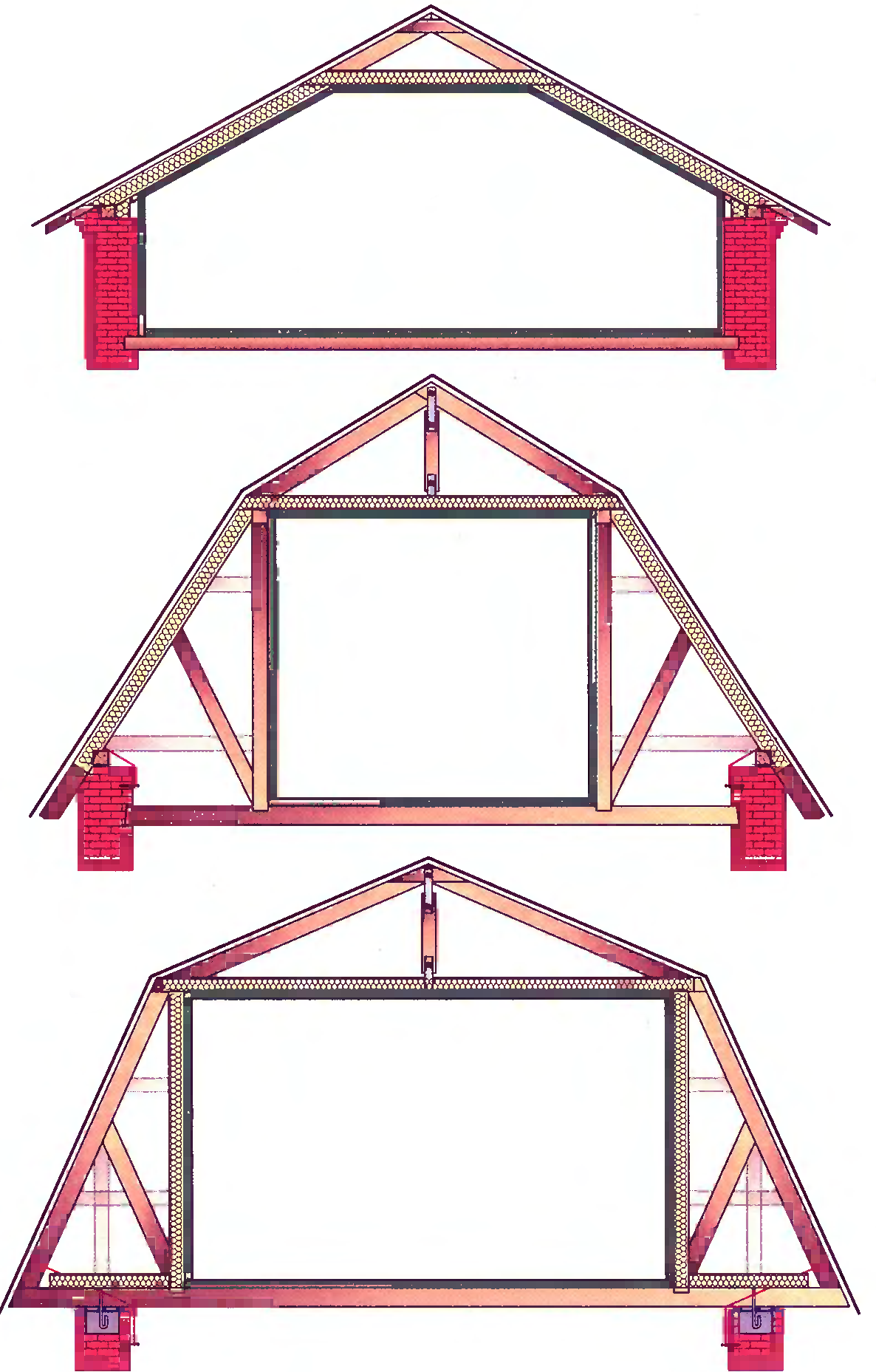 Мансардная крыша своими руками: как построить 23